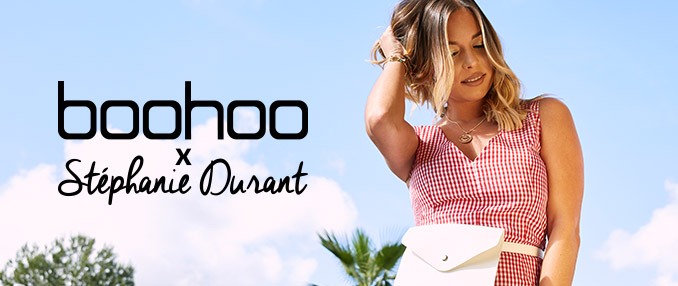 Stéphanie Durant x boohoo